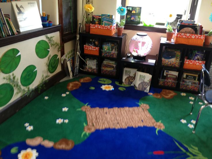 The urban ms frizzle forest pond themed classroom for Outer space urban design