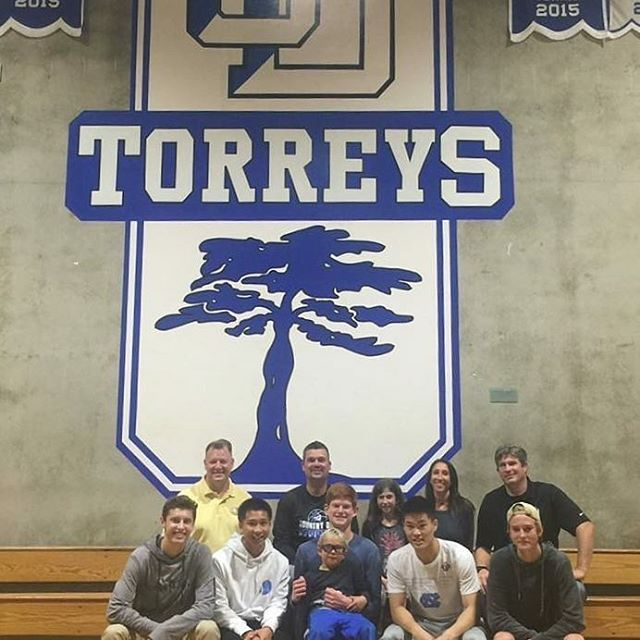 Ryan is adopted by the @LaJollaCountryDay Men's Basketball team! Ryan & his family toured the beautiful La Jolla Country Day School campus & basketball facility, met his teammates, & spent some time with FOJ Founder, Denis! Welcome to the #FOJFamily La Jolla Country Day School Men's Basketball & Ryan! 🏀 #FOJPride #lajollalocals #sandiegoconnection #sdlocals - posted by Friends of Jaclyn Foundation  https://www.instagram.com/fojfoundation. See more post on La Jolla at…
