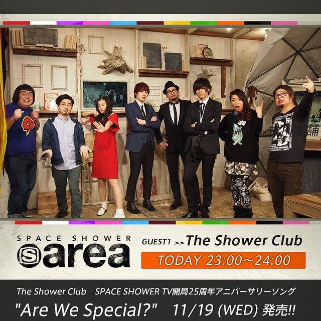SPACE SHOWER TV - Instagram写真(インスタグラム)「【スペシャエリア】ゲストはスペシャ開局25周年スペシャル・ユニット「The Shower Club」!エリアにてスペシャの思い出を語りつくす!さらにサプライズゲストにマキシマム ザ ホルモンの2人が!!? 見逃した人は本日23時のリピート放送をチェック!#スペシャ #スペシャエリア」11月6日 19時10分