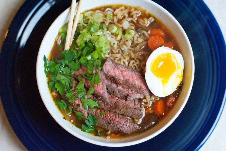 ©alialamode Beef Ramen Noodle Soup Add an extra 2T of soya sauce and 1.5T balsamic vinegar.
