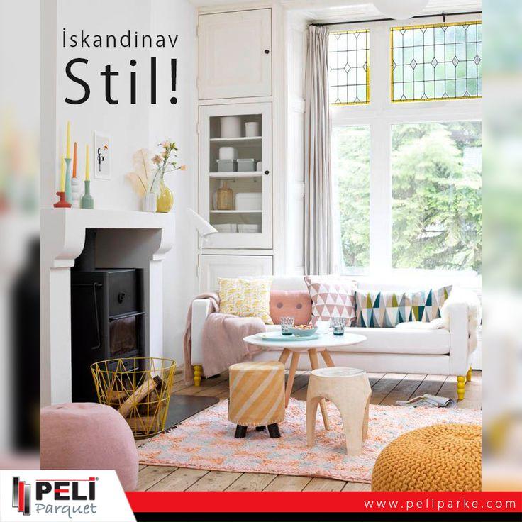 Karanlık ve soğuk İskandinav havalarının depresifliğine, yaşam alanlarını renklendirerek çözüm bulan İskandinavlar çok güzel bir tarz yaratmışlar.