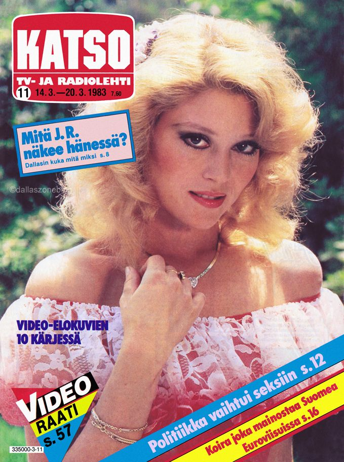 Oh, Afton! So young and innocent... Audrey Landers on Katso 1983.