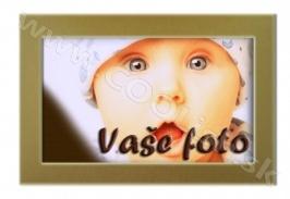 ČOKO Darček Čokoláda s Vašou fotografiou Zlatý rámček