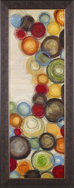 Wednesday Whimsy I by Jeni Lee Framed Painting Print