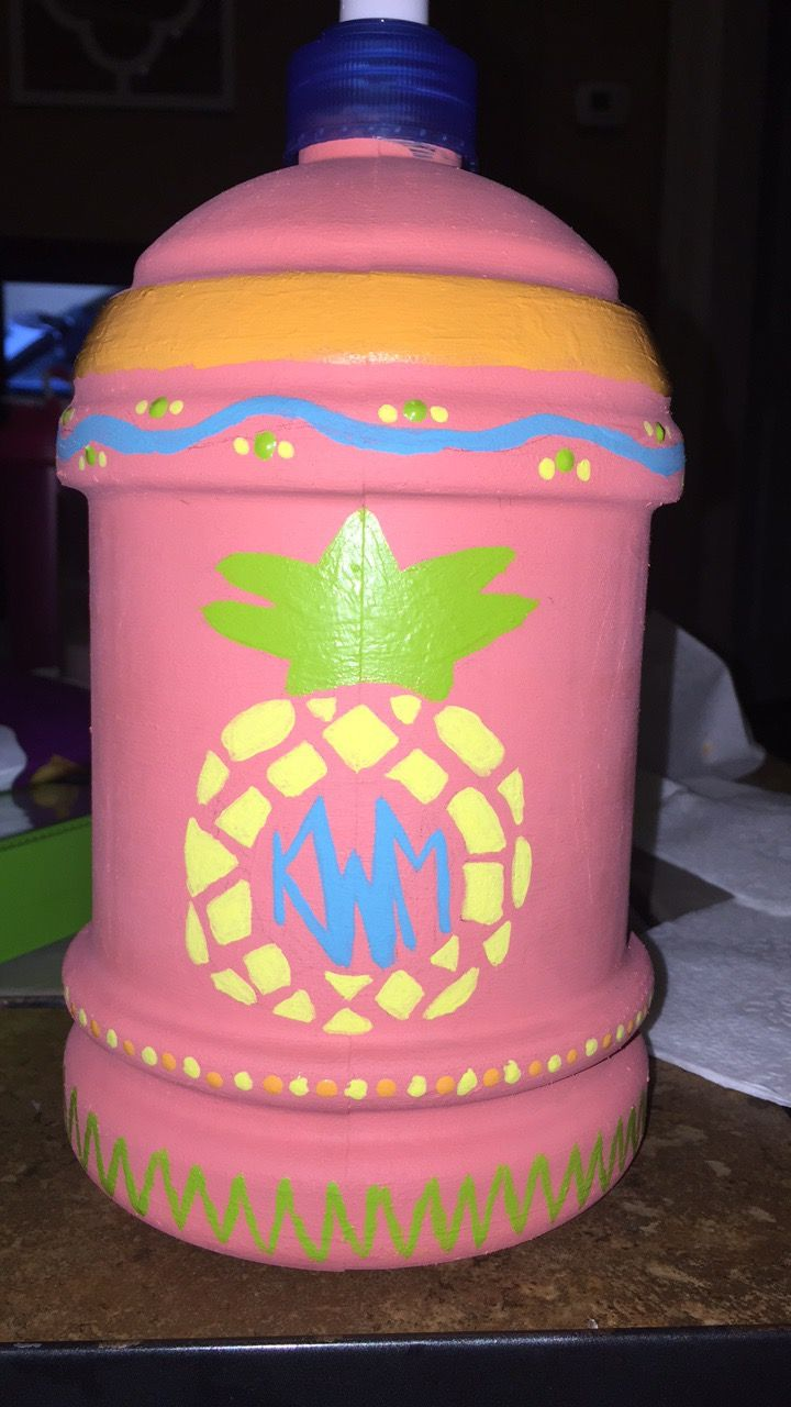 My chug jug for spring break 2017