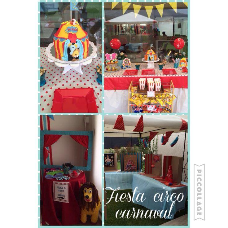 Fiesta circo carnaval