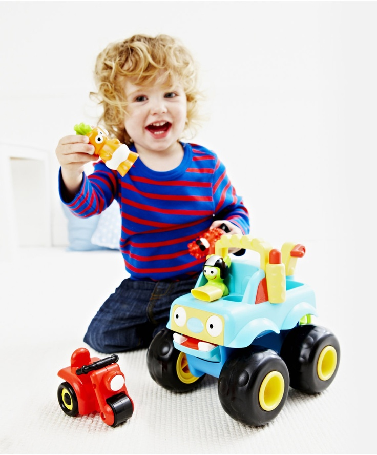 HappyLand Monster Truck : HappyLand Monster Truck : Early Learning Centre UK Toy Shop