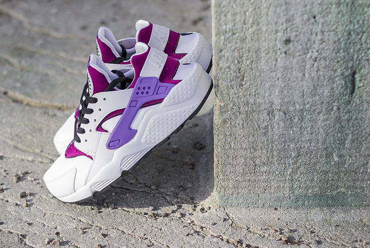 Nike Huaraches Pink And Purple