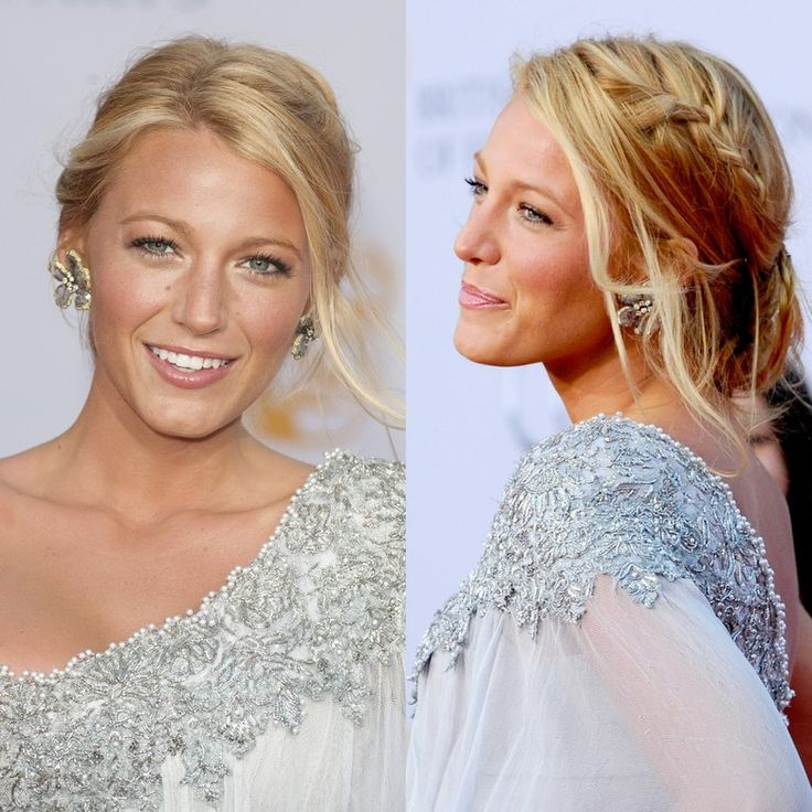 """A few light highlights around Blake Lively's hairline and some shorter pieces framing her face make this style look so soft,"" says hairstylist Teddi Cranford of White Rose Collective in New York City. To fatten up strands, mist on a hair powder first; Cranford likes Sachajuan Volume Powder."