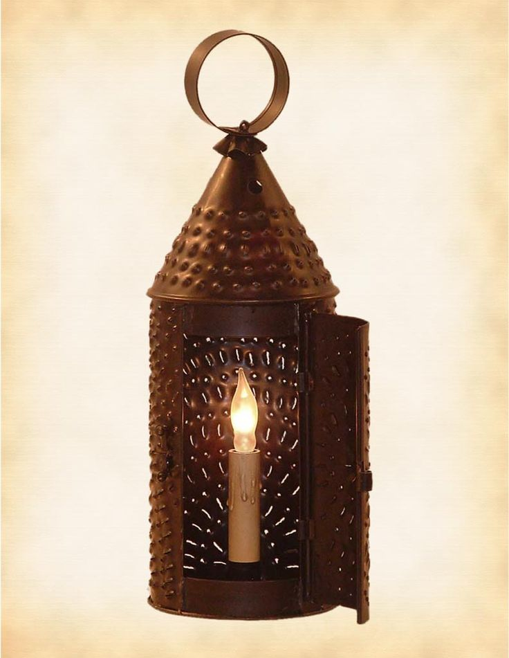 Exceptional Primitive Paul Revere Lantern Nice Look