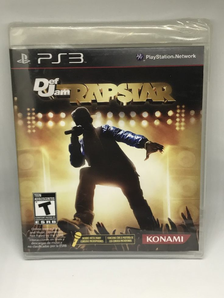 Def Jam Rapstar-PreOwned-Playstation 3