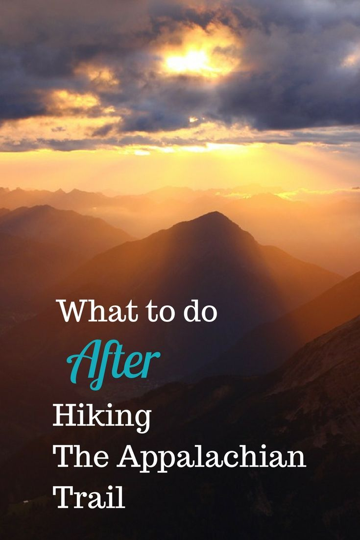 You're a thru-hiker!!! Which is freaking amazing!! But... now what? Read on to find out what to do after your hike on the Appalachian Trail is over #appalachiantrail