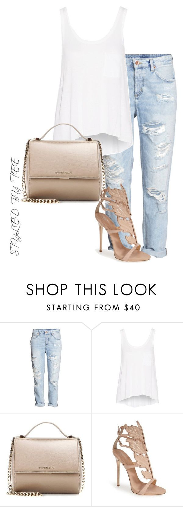 """Untitled #97"" by toniannfratianni on Polyvore featuring H&M, rag & bone, Givenchy, Giuseppe Zanotti, women's clothing, women, female, woman, misses and juniors"