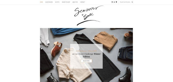 Top 10 Ethical Fashion Bloggers | The Curious Button | Seasons + Salt