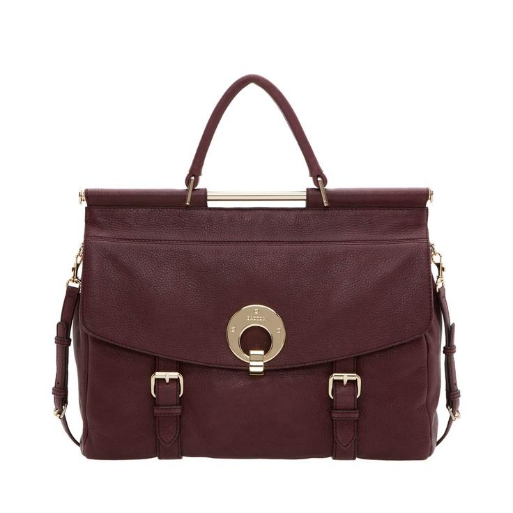 Oroton 'Luca' satchel - I love
