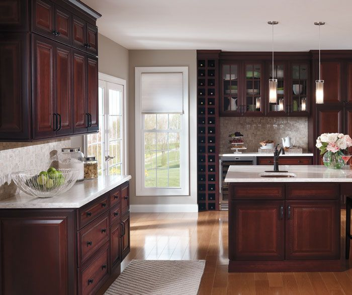 659 best images about craft ideas on pinterest menu for Cherry kitchen cabinets with glass doors