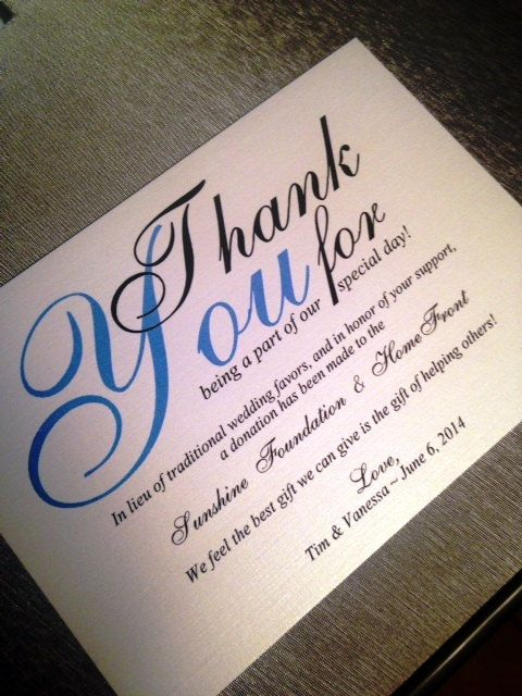 79 best giving back images on pinterest wedding stuff wedding wedding donation cards in lieu of a favor by cupcakegraphics1 3250 stopboris Image collections
