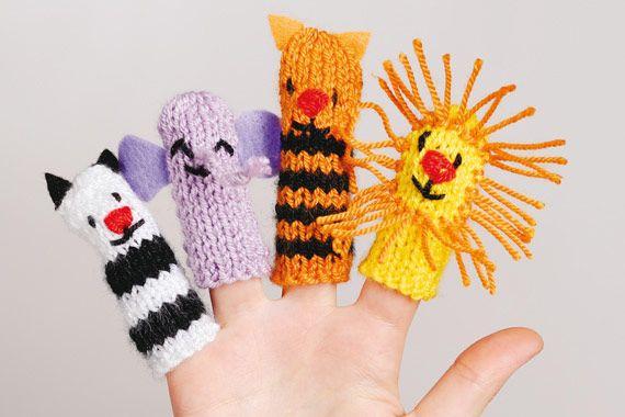 Títeres de dedo, super simples! / Finger puppets, super simple!