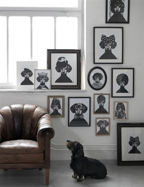 Dachshund Wall Art 12 best dachshund art & more images on pinterest