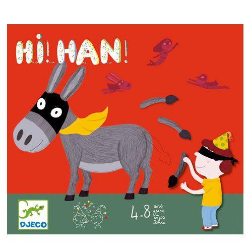 c1 Hi ! Han ! Un classique, le jeu de la queue de l'âne !