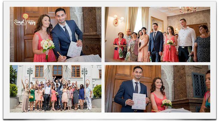 Nicoleta & Dragos formal wedding
