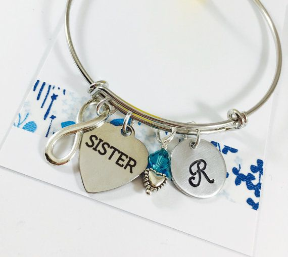 Sister Bracelet Sister Jewelry Sister Gift by UniquelyImprint