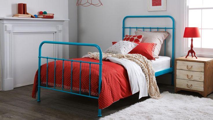 Home :: Bedroom :: Kids Bedroom :: Kids Beds :: Sunday Kids Bed Frame - Teal Blue