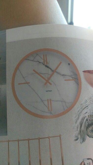 Zone marble clock domayne $149