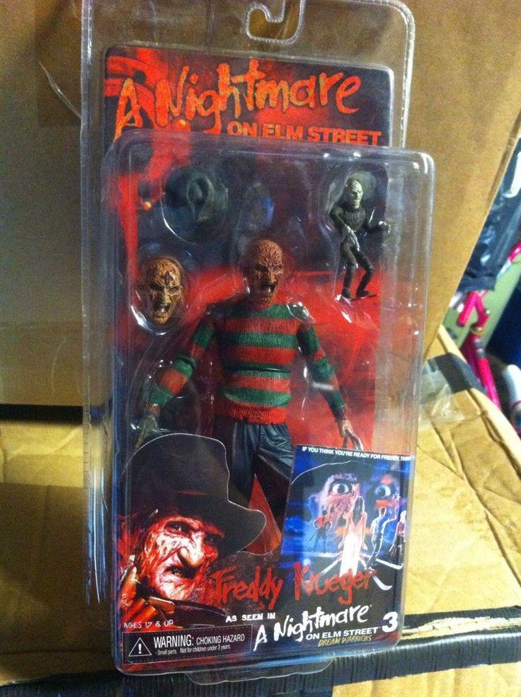 Halloween Freddy Toys : Freddy krueger nightmare on elm street action figure