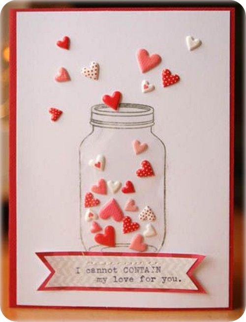 Image result for tarjetas de san valentin hechas a mano