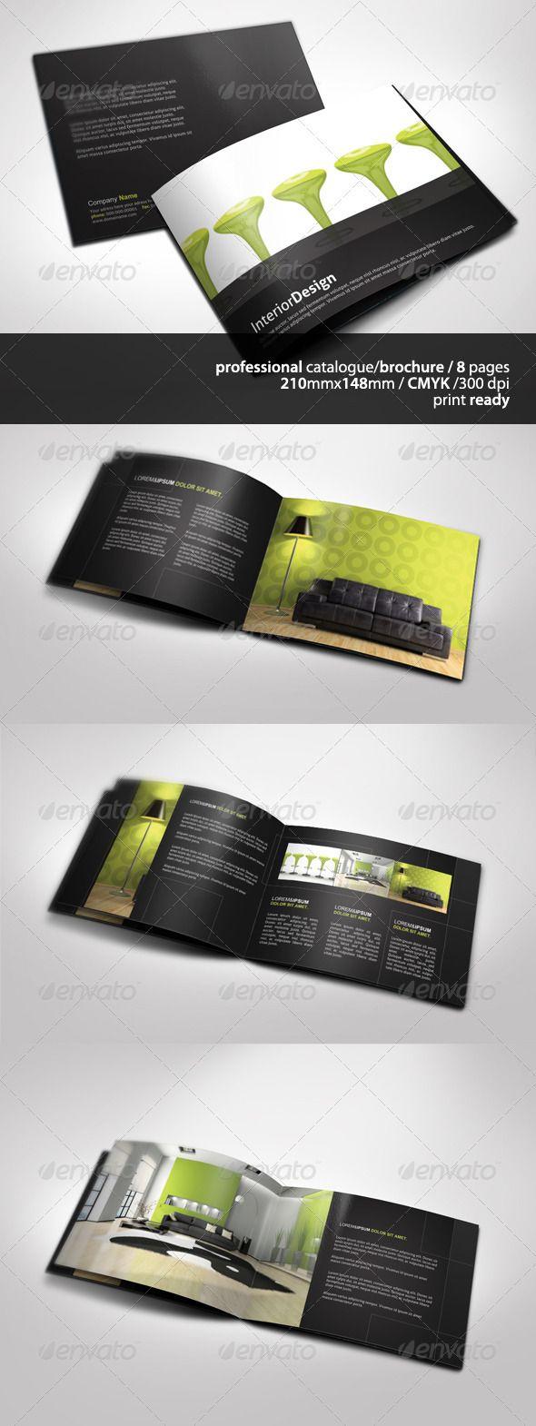 a5 brochure template - a5 brochure catalogue design brochure template and fonts
