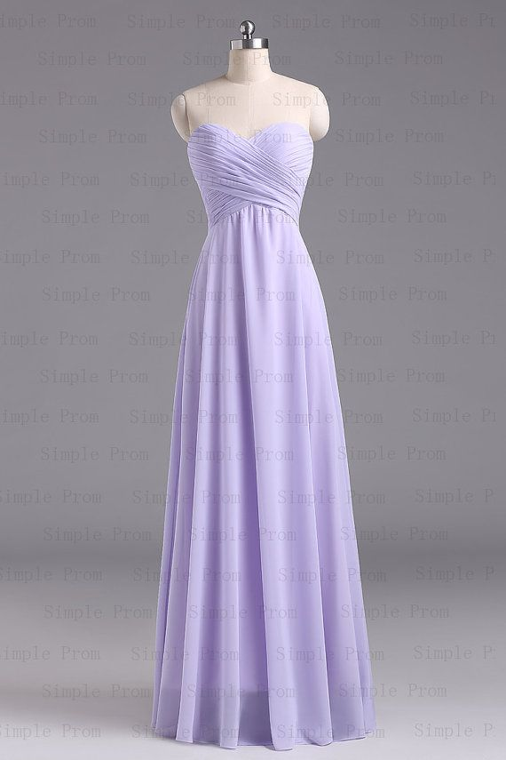 A-line Sweetheart Floor-length Sleeveless Purple Long Chiffon Prom Dress Bridesmaid Dress Evening Dress Party Dress 2013 With Lace up back $95.00