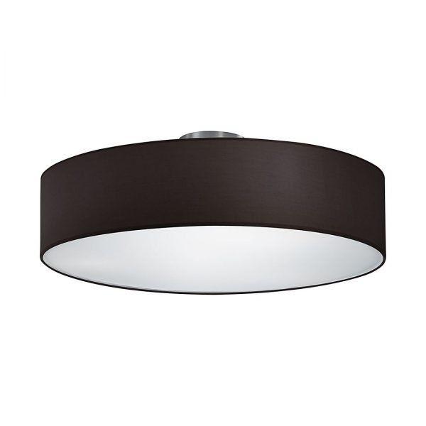 Deckenlampe schwarz (49,99 €) 50cm Durchmesser