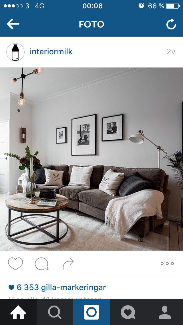 Inspiration, och ser ut som IKEA-golvlampan, plus att det är en fin howardsoffa också :)