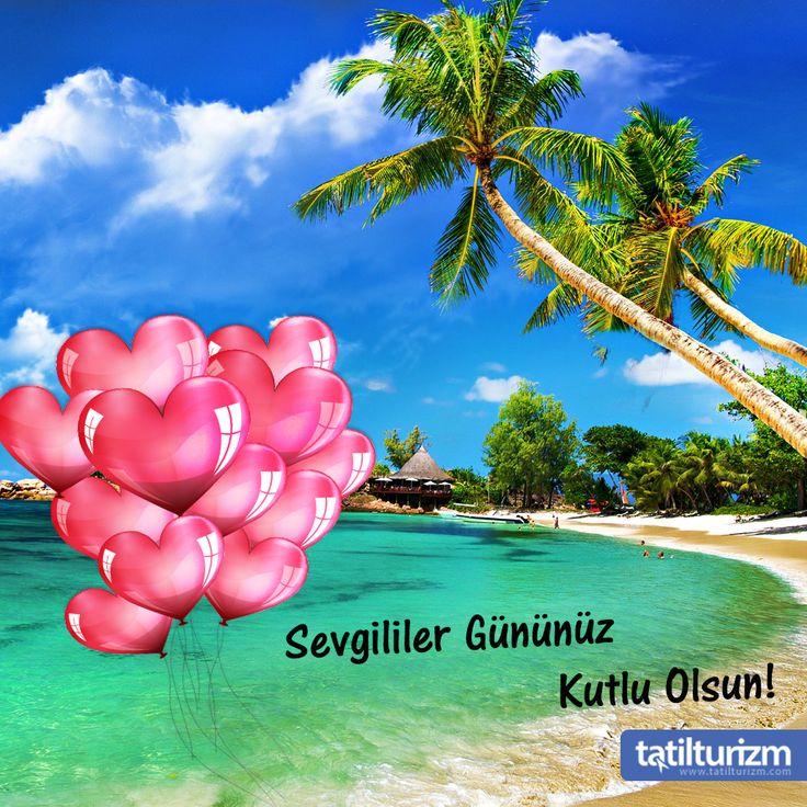Kumsalın denize, gökyüzünün bulutlara sizlerin de tatil aşkı hiç bitmesin.. Sevgililer gününüz kutlu olsun.. <3