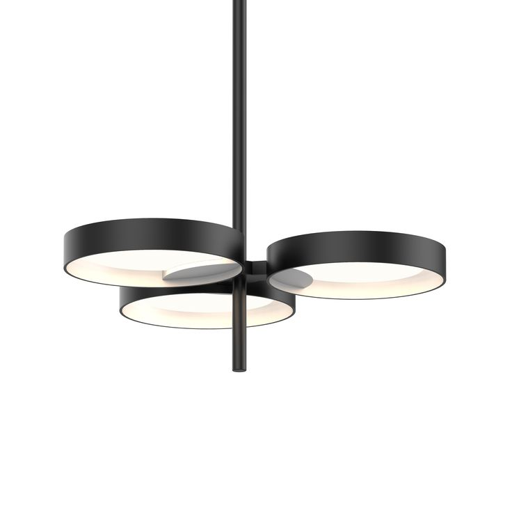 Light guide ring 3 light led pendant2654 25w sonneman a way