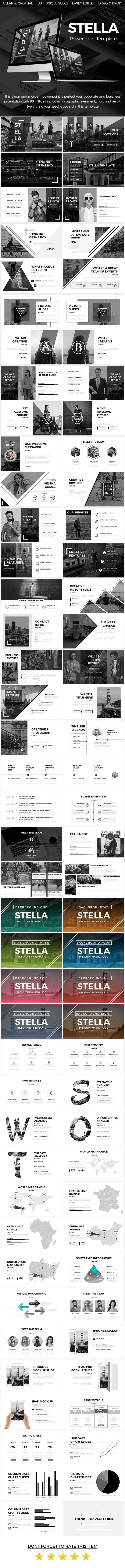 Stella - Creative Powerpoint Template