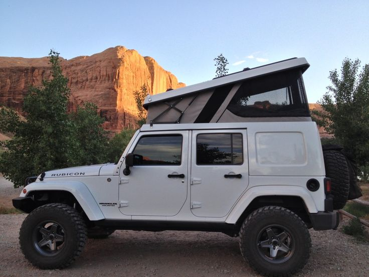 2012 Jeep Wrangler Rubicon Unlimited - Ursa Minor J30 Pop Up Camper - Fully Built!!! - Expedition Portal