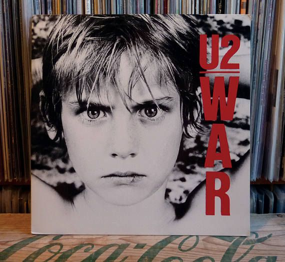 "U2 ""WAR"" on ViNYL - 1983 U.S. Island Records 3rd full length (7 90067-1) ""Sunday Bloody Sunday"", ""Two Hearts Beat As One"" ""New Year's Day"""