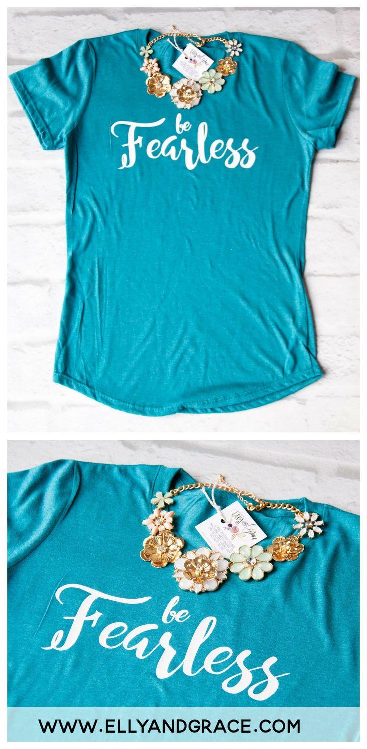 Shirt design words ideas - Be Fearless Triblend Christian Tee Shirt