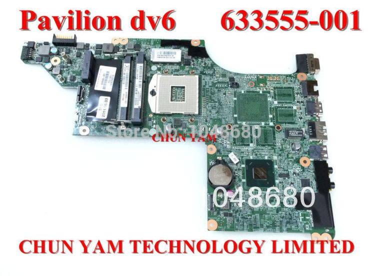 633555-001 for HP Pavilion DV6 DV6-4000 series laptop motherboard HM65 DA0LX3MB8F0 REV:F mainboard 100% tested 90 Days Warranty