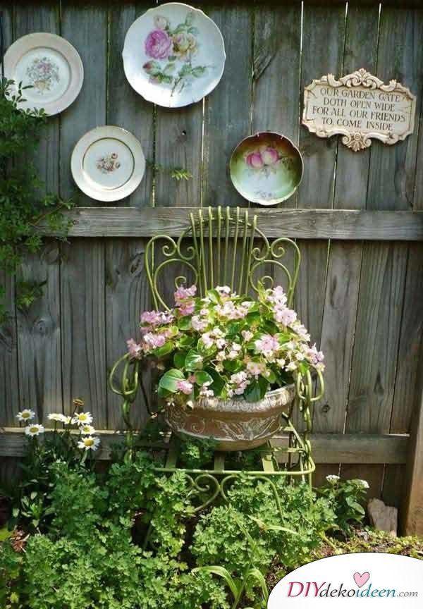 Diy Gartendeko Selber Machen 25 Dekoideen Fur Den Fruhling Garten Deko Garten Design Gartendekoration