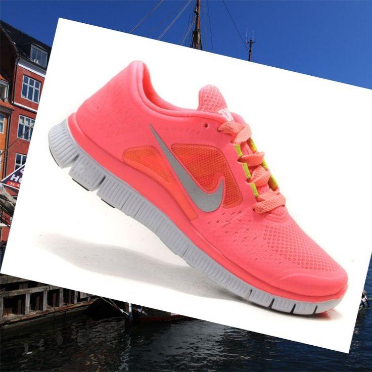 Nike Free Run 3 Dame Coral Løbesko HOT SALE! HOT PRICE!