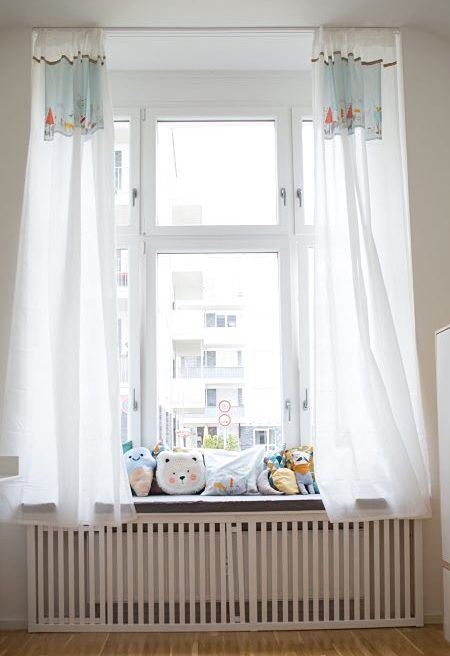 Popular DIY Anleitung Vorh nge f rs Kinderzimmer n hen via DaWanda