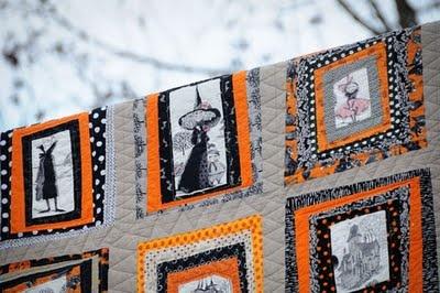 116 Best Ghastlies Images On Pinterest Halloween Quilts