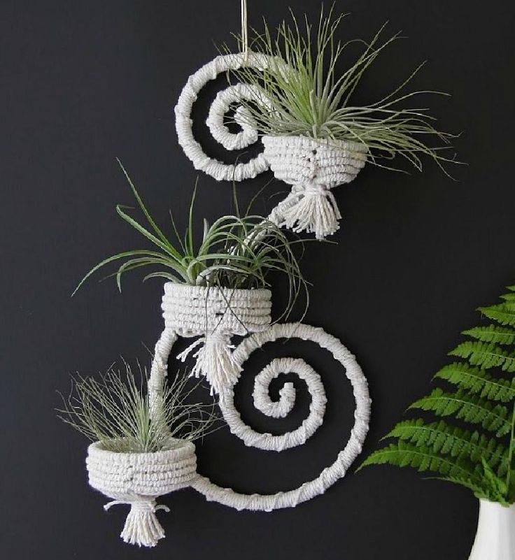 17 Best Images About Macrame Plant Hangers On Pinterest
