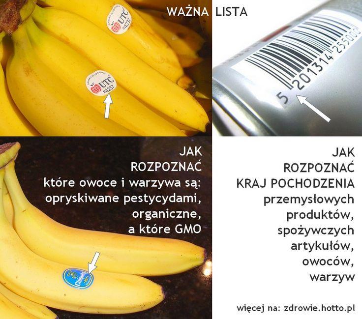 Jak rozpoznać GMO a jak kraj pochodzenia produktów. Jak się nie dać oszukać