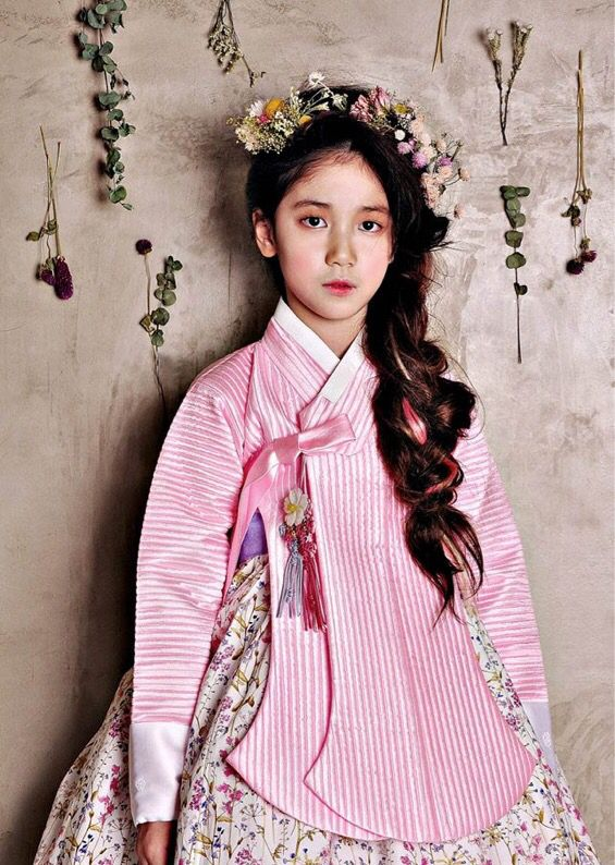 Girl in a hanbok
