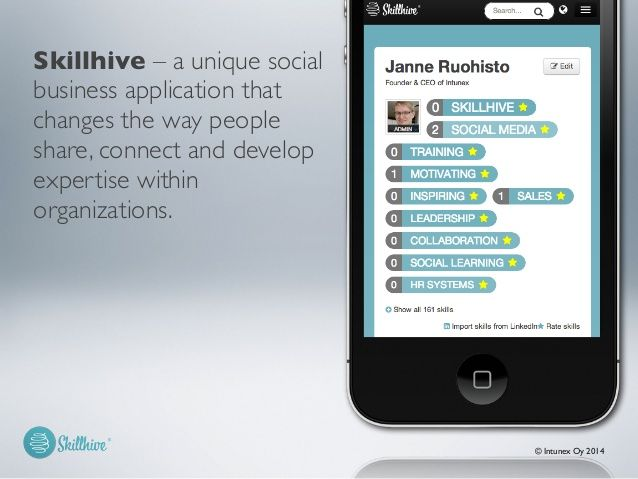 A new Skillhive product presentation. Feel free to comment or share it if you like :)