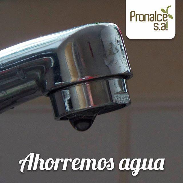 ¿ #SabíasQue un grifo de agua goteando, desperdicia 30 litros de agua por día? #HistoriaPronalce